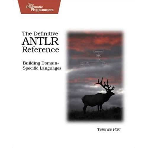 photo of antlr book on Building domain-specific languages